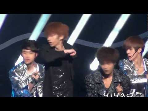 120415 Fancam EXO-K MAMA@Inkigayo(Focus Chanyeol)