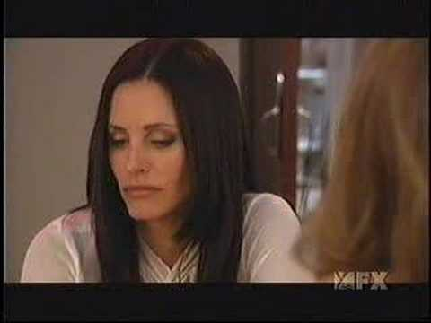 Dirt - Courteney and Jennifer kiss!