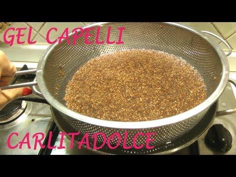 Tutorial come Fare il GEL ai Semi di LINO e come usarlo sui Capelli..