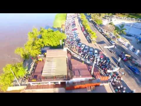 Desde drone: Asi fue la Marcha por la Vida en Paraná