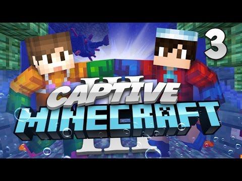 Minecraft Captive Minecraft 3: E3 - Underwater Maze