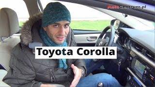 Toyota Corolla 2013 - wideotest AutoCentrum.pl