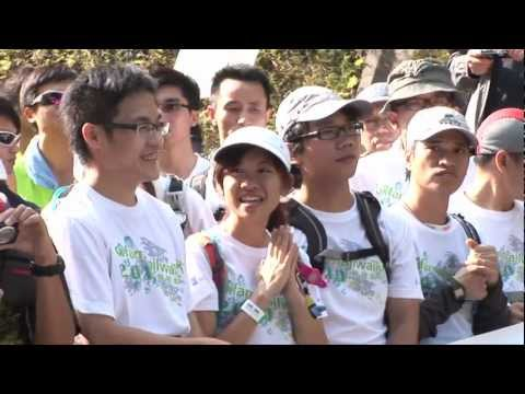 Oxfam Trailwalker 2011 (30th anniversary)Promo feat. theme song by RubberBand (English)