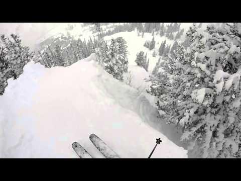 GoPro Line of the Winter: Jonnie Merrill - Snowbird, Utah 04.30.16 - Snow