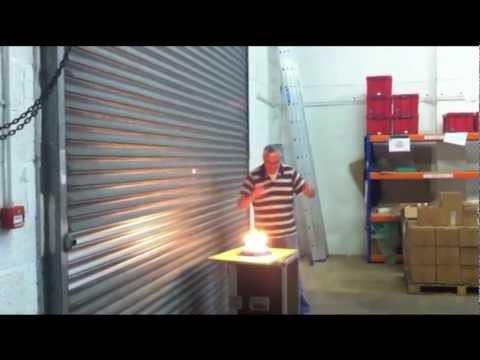 Engineer Gets Exploding Birthday Cake Surprise