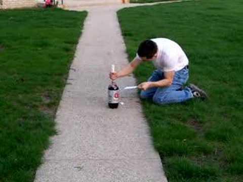 Mentos + Coke = Crazy Explosion!