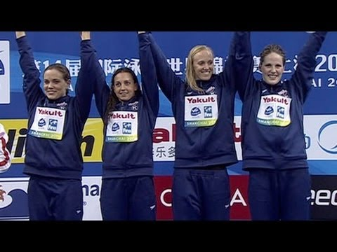 American women claim 4x100 medley title - from Universal Sports
