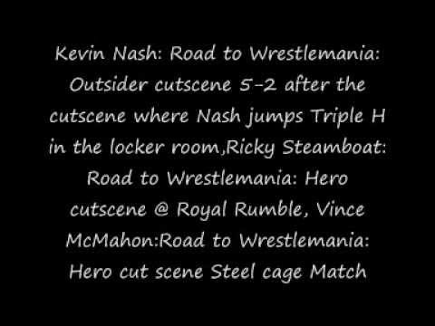 WWE'12 - ALL Cheats &amp; Unlockables