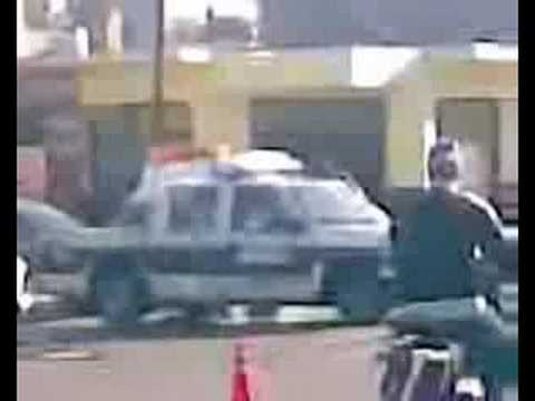 Decapitados en accidente