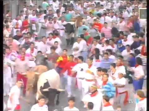 Encierro de San Fermín   9 de julio de 1994 480p