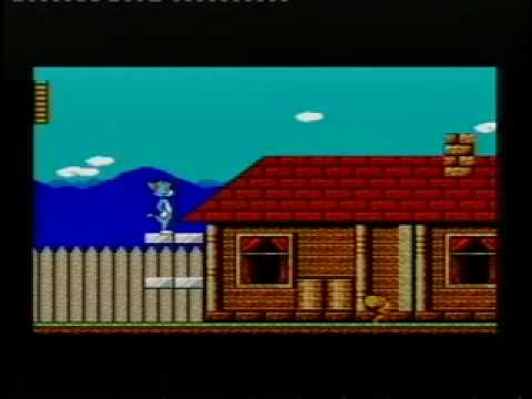 Tom And Jerry On SEGA Master System Part 1