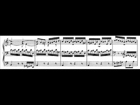JS Bach - BWV 543 - Fuga a-moll / A minor