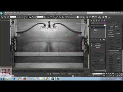 3DS Max - Tutorial 04-Editable Spline- bahasa Indonesia