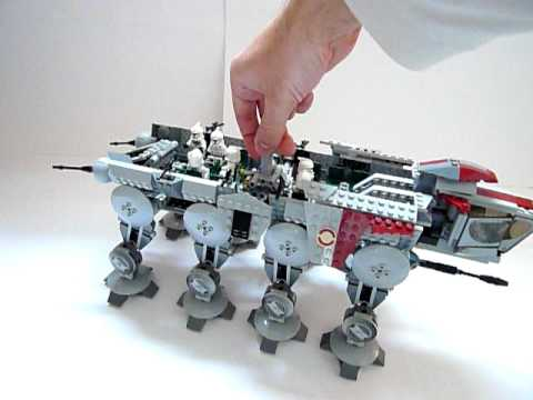 LEGO 10195 AT-OT Playability (ONLY AT-OT)