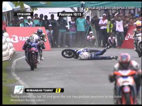 Round 3 - CP 130 Race News - 2012 PETRONAS Malaysian Cub Prix Championship