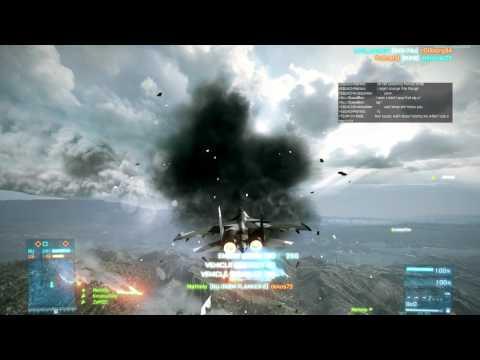 Battlefield 3 Jets: Heat Seeking Missile Gameplay on Caspian Border by Matimi0 - UCic79WdIerj8RpcshGi5ZiA