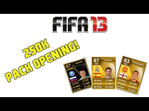 FIFA 13 - 250K Pack Opening!