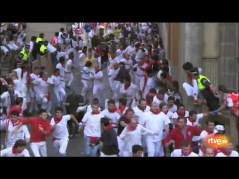 Quinto encierro de San Fermín 2011: Fuente Ymbro