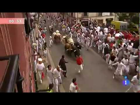 3º Tercer encierro San Fermín 9 julio  2012