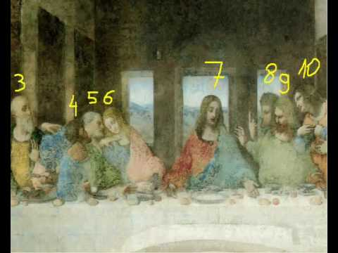 Another Secret Revealed !!! (Last Supper, Leonardo Da Vinci)