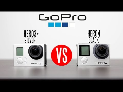 GoPro Hero4 Black Vs GoPro Hero3+ Full In-Depth Comparison (Watch in 4K)