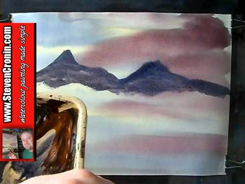 'Winter in Scotland' #1 Watercolour Painting Demo