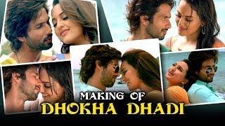 R...Rajkumar Dhokha Dhadi Making Of The Song