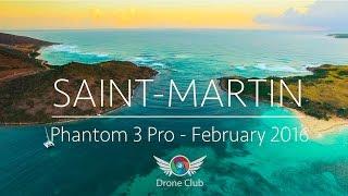 Drone sobre San Martin - Caribe