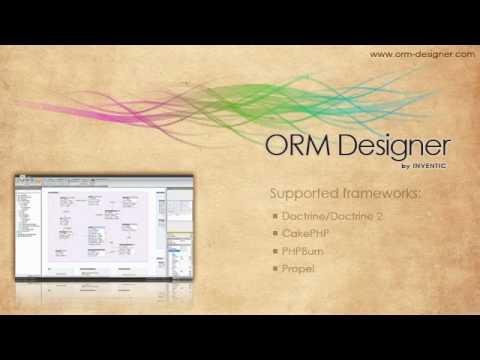 ORM Designer promo video
