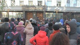 Работники кондитерской фабрики ЖЛ пикетировали Генпрокуратуру