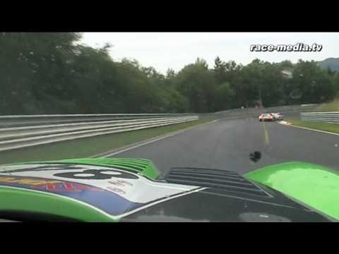 VLN 7. Lauf 2010 Vulkan Racing Dodge Viper GT3 Onboard Nürburgring Nordschleife