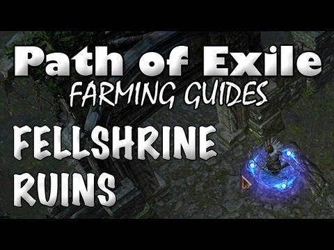 Path of Exile: FELLSHRINE RUINS | Where to Farm (Act 2) XP, Gear & Currency
