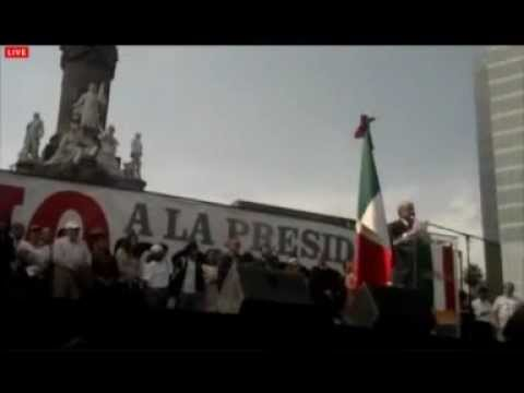 Andrs Manuel Lpez Obrador - 01/12/2012 - ngel de la Independecia