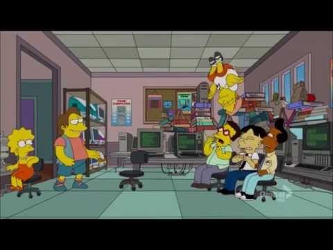 The Simpsons - Angry Nerds
