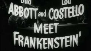Abbott & Costello Meet Frankenstein (Trailer)
