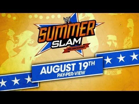 Catch SummerSlam, Sunday, August 19, 2012
