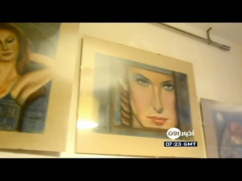 بالفيديو: شاهد معرض يجسد واقع المرأة السورية ومعاناتها - أخبار الآن