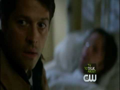 Supernatural - 7x17 - Castiel Saves Sam From Demon and His Sacrifice!