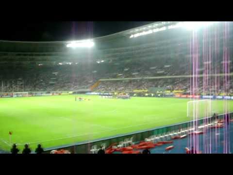 Peru - Paraguay  Clasificatorias  Brasil 2014 Himno Nacional