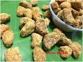 Sharkara Varatti /  Kerala Sarkara Upperi / jaggery coated plantain chips, Onam sadhya