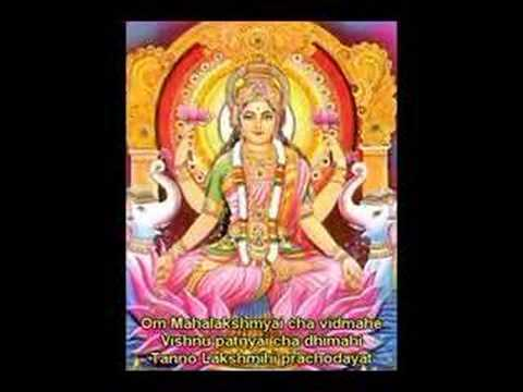 Lakshmi (Laxmi) Gayatri for Spiritual Wealth and Luxuries