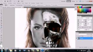 Tutorial photoshop zombie.avi