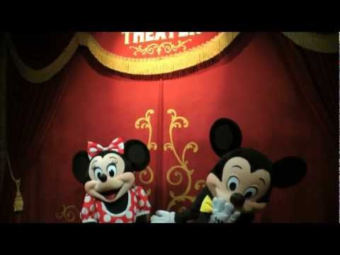 Meeting Mickey Mouse in Town Square Theater (HD 1080p)