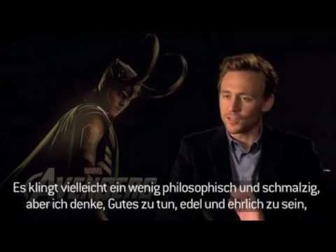 Tom Hiddleston interview with Filmstarts