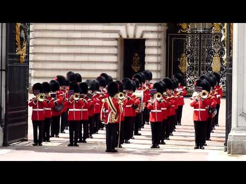 Changing of the Guard Buckingham Palace London -FWDIuOXaIe8