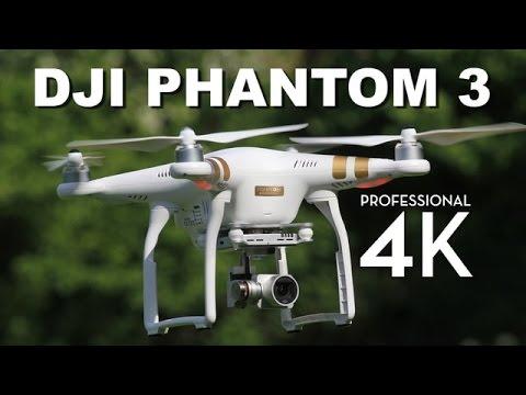 DJI Phantom 3 Professional Review | 4K Video Drone Quadcopter Review