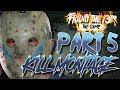Part 5 Jason KILL MONTAGE   To the Tune of HIS EYES by Pseudo Echo   Friday the 13th: The Game