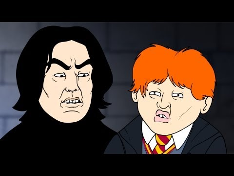 Wingardium Leviosa (Harry Potter Parody) - Oney Cartoons