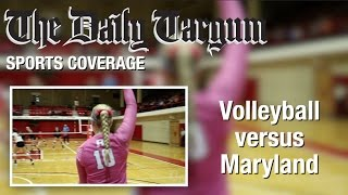 Volleyball vs Maryland (10/22/16)