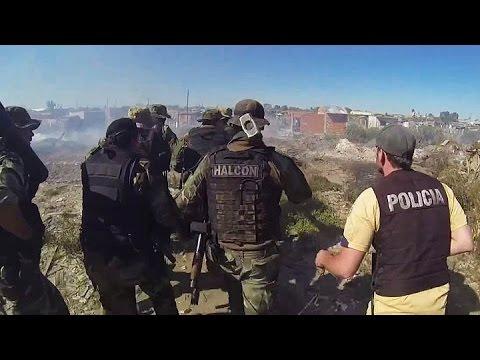 Oculto en un volquete el grupo Halcón desbarató una banda narco